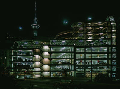 Art Print featuring the photograph Auckland Nights by Nisah Cheatham