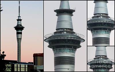 Auckland Sky Tower Art Print