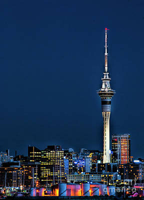 Photograph - Auckland Skytower by Karen Lewis