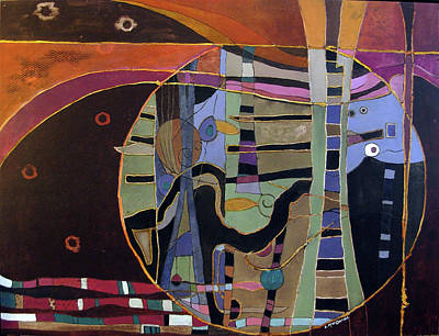 Subterranean Painting - Auctumnitus by Lory MacDonald