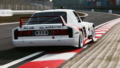 Photograph - Audi 90 Quattro Imsa Gto - 39 by Andrea Mazzocchetti