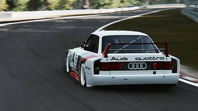Photograph - Audi 90 Quattro Imsa Gto - 45 by Andrea Mazzocchetti