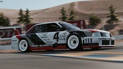 Photograph - Audi 90 Quattro Imsa Gto - 52 by Andrea Mazzocchetti