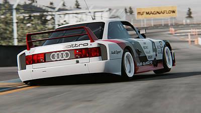 Photograph - Audi 90 Quattro Imsa Gto - 53 by Andrea Mazzocchetti