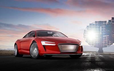 Audi E Tron 5  Art Print
