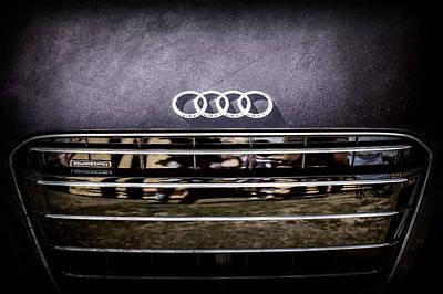 Photograph - Audi Grille Emblem -2333ac by Jill Reger