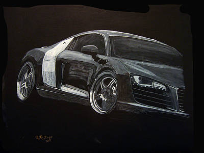 Painting - Audi Le Mans by Richard Le Page