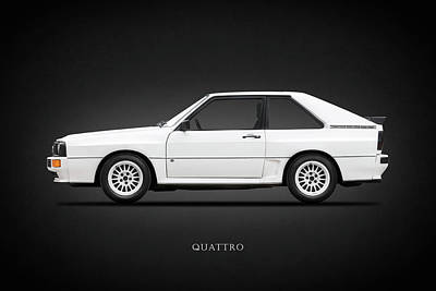 Audi Quattro 1985 Art Print by Mark Rogan