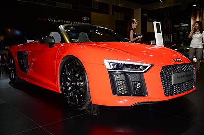 Photograph - Audi R8 by Chua  ChinLeng