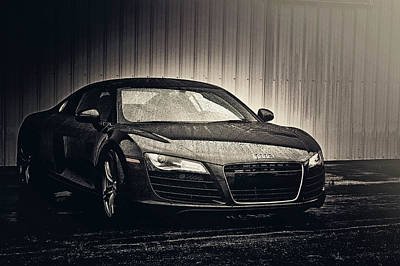 Photograph - Audi R8 by Joel Witmeyer