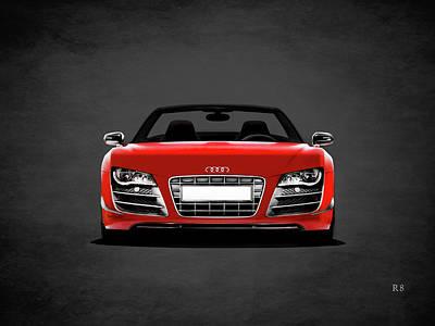 Audi Photograph - Audi R8 by Mark Rogan