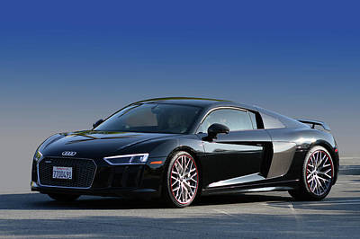 Photograph - Audi R8 Rocket by Bill Dutting