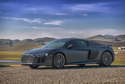 Photograph - #audi #r8 #v10plus by ItzKirb Photography