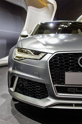 Gunmetal Photograph - Audi Rs 6 by Rick Deacon