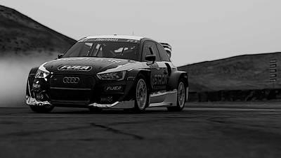 Photograph - Audi S1 Rx - 1 by Andrea Mazzocchetti