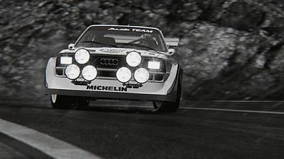 Photograph - Audi Sport Quattro 1986 - 04 by Andrea Mazzocchetti