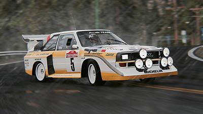 Photograph - Audi Sport Quattro 1986 - 05 by Andrea Mazzocchetti