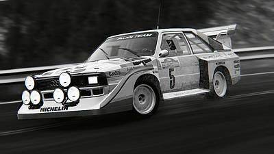 Photograph - Audi Sport Quattro 1986 - 06 by Andrea Mazzocchetti