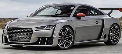 Audi Tt Photograph - Audi Tt Clubsport by Stephanie Hamilton