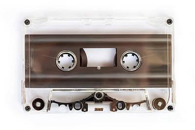 Photograph - Audio Cassette by Delphimages Photo Creations
