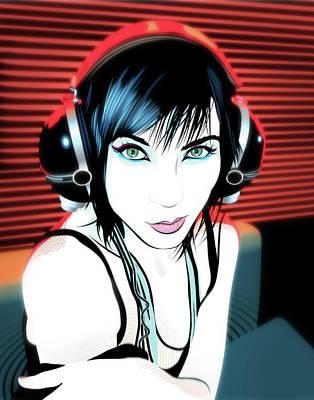 Digital Art - Audiophile by Jason Casteel