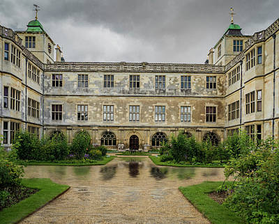 Photograph - Audley Hall Puddle by Jean Noren