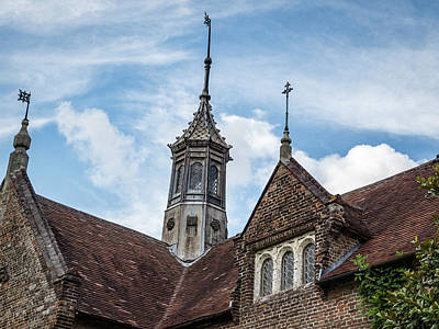 Photograph - Audley Hall Spires by Jean Noren