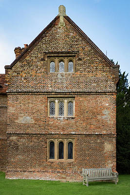 Photograph - Audley Hall Stable by Jean Noren