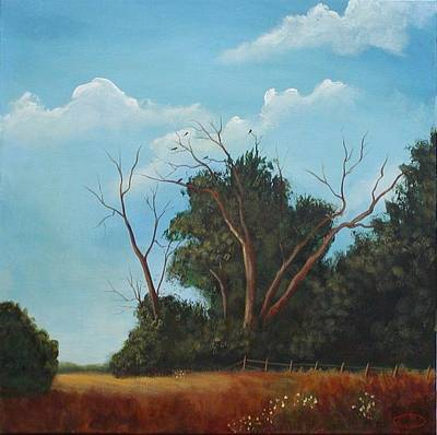 Painting - Audley Raod Meadow by Sharon Steinhaus