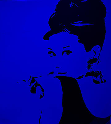 Photograph - Audrey Blue by Rob Hans