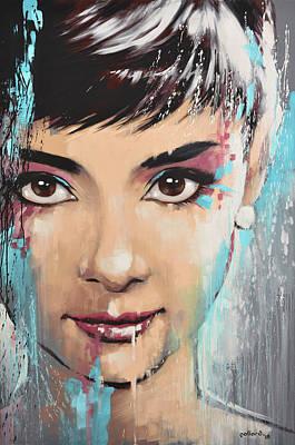 Painting - Audrey by Glenn Pollard