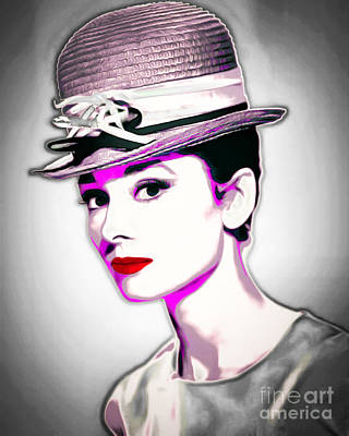 Photograph - Audrey Hepburn 20151220 by Wingsdomain Art and Photography