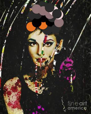 Dadaismus Painting - Audrey Hepburn Dadaismus Breakfast By Tiffany by Felix Von Altersheim