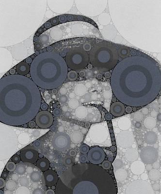 Impressionism Digital Art - Audrey Hepburn by Esoterica Art Agency