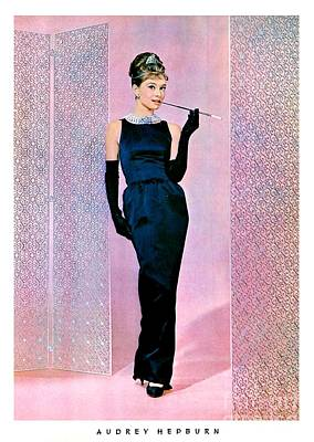 Actors Photos - Audrey Hepburn In Breakfast At Tiffanys #5 by The Titanic Project