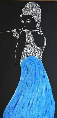 Painting - Audrey I by Kruti Shah
