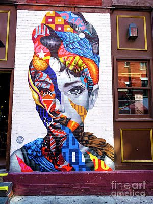 Photograph - Audrey In Little Italy by John Rizzuto