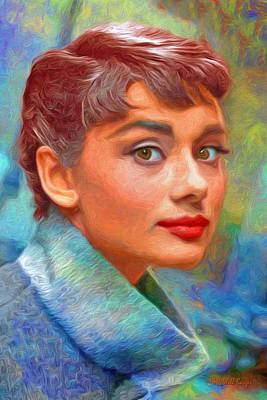 Audrey Nbr 01-d Original by Will Barger