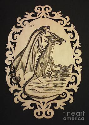 Audrey's Dragon Original by Ginny Youngblood