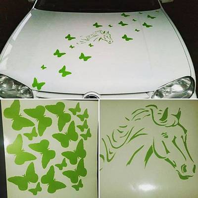 #aufkleber #auto #ersterauftritt Art Print