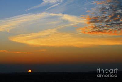 Photograph - Aug 21 Morn Sun by Donna L Munro