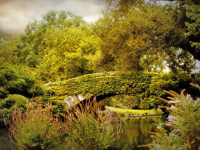 Photograph - August At Gapstow Bridge by Jessica Jenney