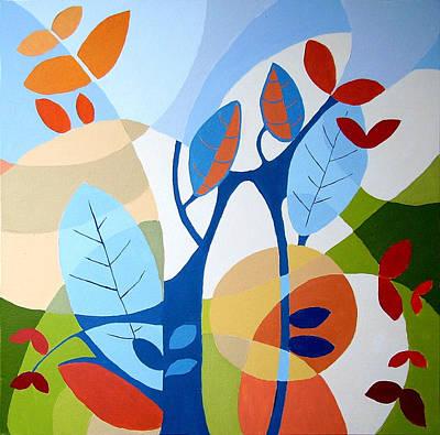 August Art Print by Carola Ann-Margret Forsberg