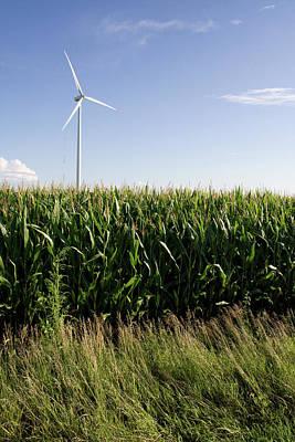 Photograph - August Corn Turbine by Dylan Punke