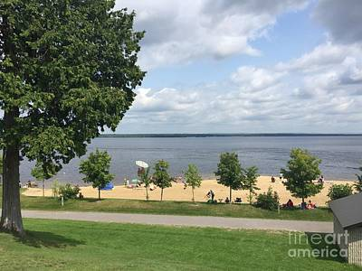 Photograph - August Day At The Beach - Arnprior Beach by Barbara Griffin