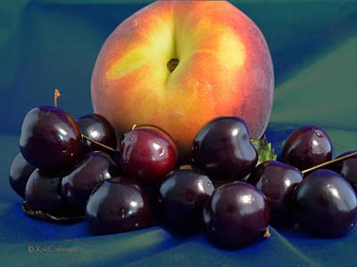 Photograph - August Fruits by Kae Cheatham