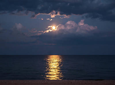 Photograph - August Full Moon by Patti Raine