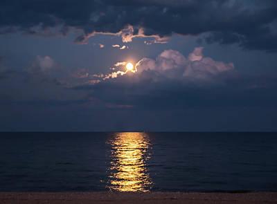 Photograph - August Full Moon by Patti Raine