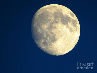 Moon Photograph - August Moon by Julie Pacheco-Toye