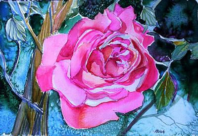 Painting - August Pink by Mindy Newman